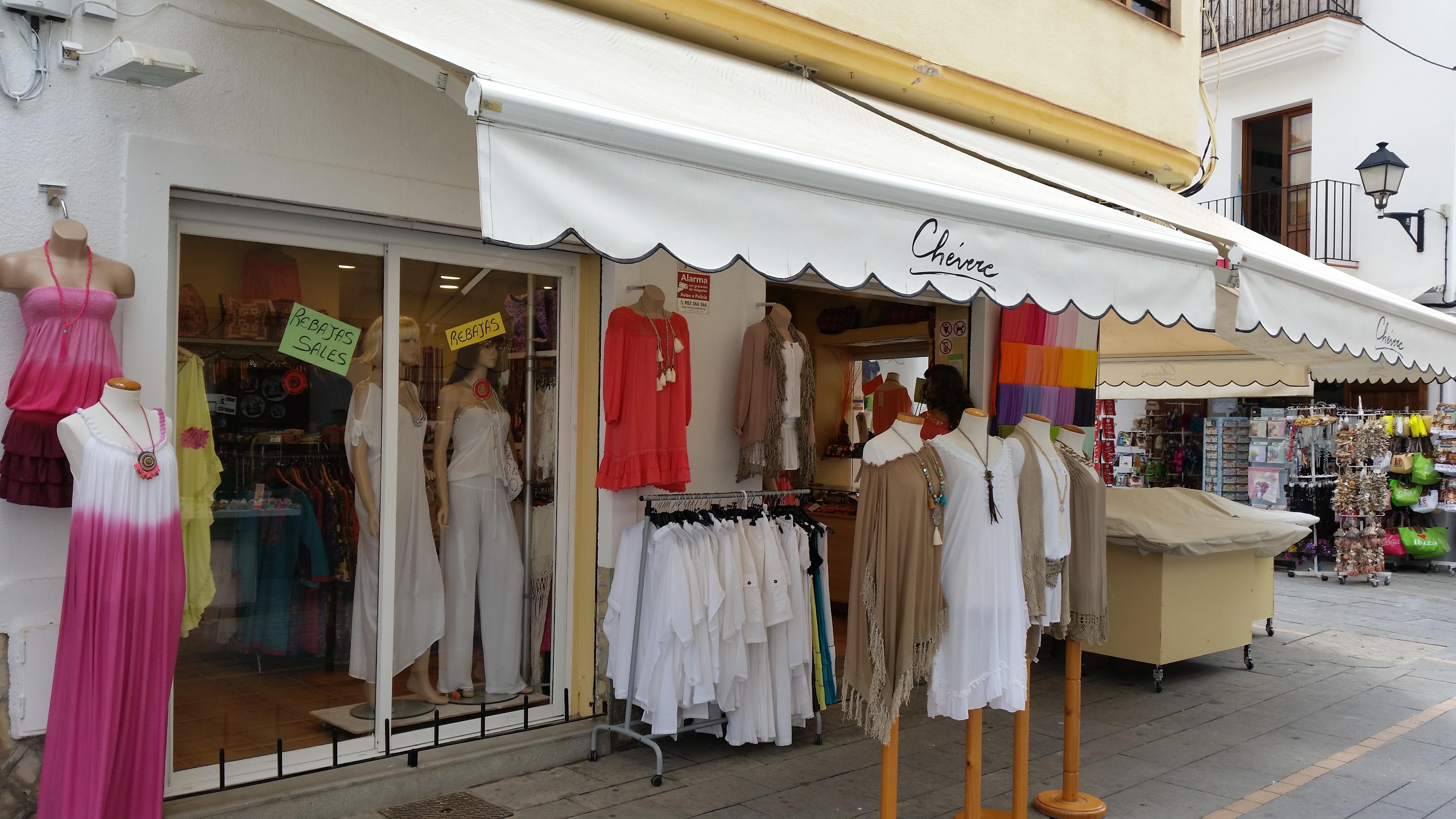 """ESPAÑA – IBIZA / Boutique """"CHEVERE"""""""